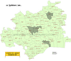 Pattukkottai Map