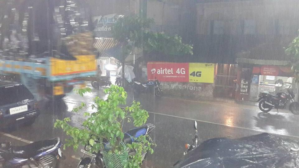 Heavy rain in pattukkottai