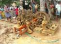 பட்டுக்கோட்டை அருகே 14 ஐம்பொன் சாமி சிலைகள் கண்டெடுப்பு
