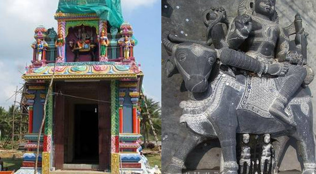 பட்டுக்கோட்டை அருகே முதல் எமன் கோவில்: ஜனவரி 22-ல் கும்பாபிஷேகம்