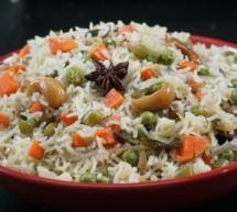ருசியான மதிய உணவு வெஜிடபிள் புலாவ் |  காய்கறி புலாவ் | Vegetable Pulau